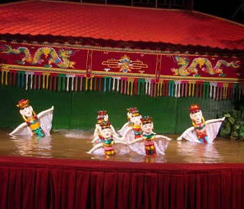 Water Puppet Show and Dinner on Boat (Evening)